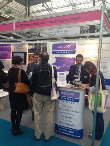 Eastcott Referrals at the London Vet Show