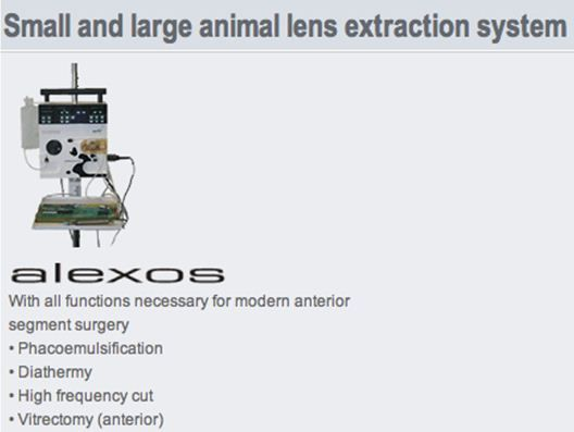 lens extraction system