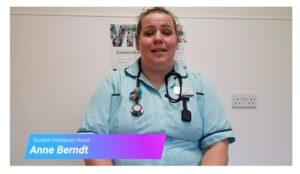 Student Veterinary Nurse Anne Berndt