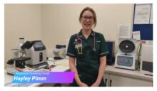 RVN Hayley Pimm discusses the variety of laboratory test